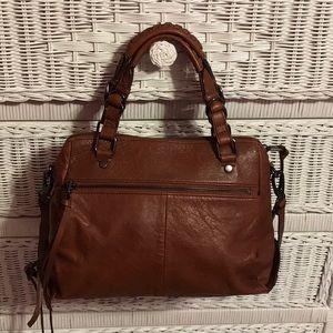 Elliott Luca leather crossbody bag